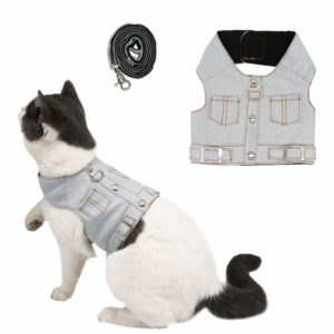 ruris-cat-jeans-jacket-harnais