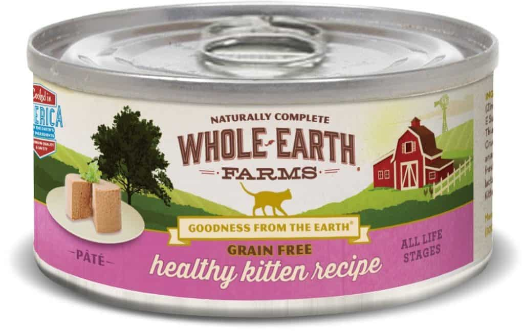 Whole Earth Farms Healthy Kitten Recipe