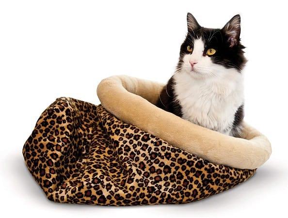 Self-Warming-Kitty-Sack-Heated-Bed