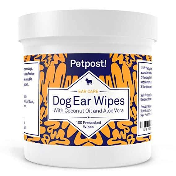 petpost! dog ear wipes