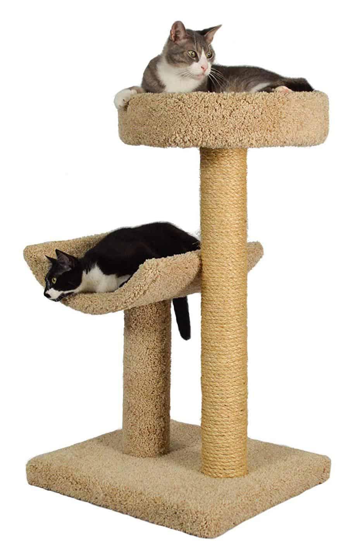 simple sleeper cat tree