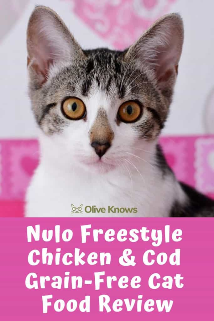 Nulo Freestyle Chicken & Cod Grain-Free Cat Food Review ...