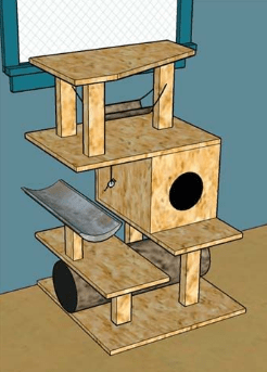 cat-building-diy