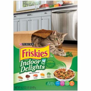 friskies indoor dry cat food