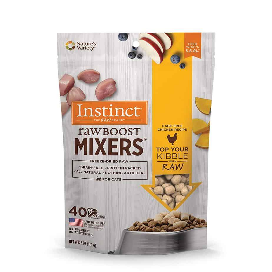 instinct raw boost mixers
