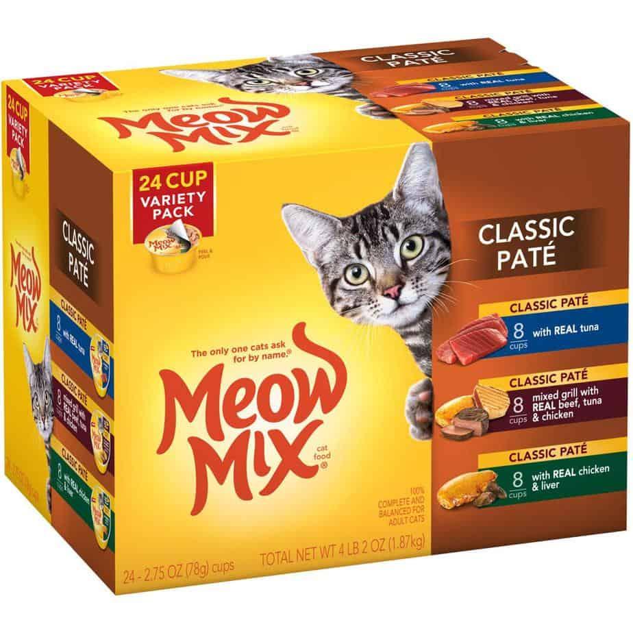 meow mix class pate