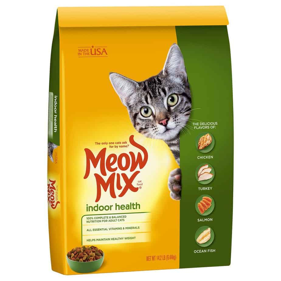 meow mix indoor health