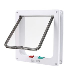 shineblue 4 way locable cat flap door