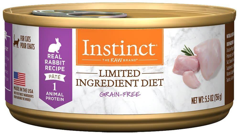 instinct canned food