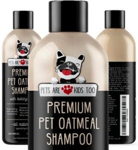 Natural Pet Shampoo For Dogs & Cats