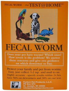 fecal worm test