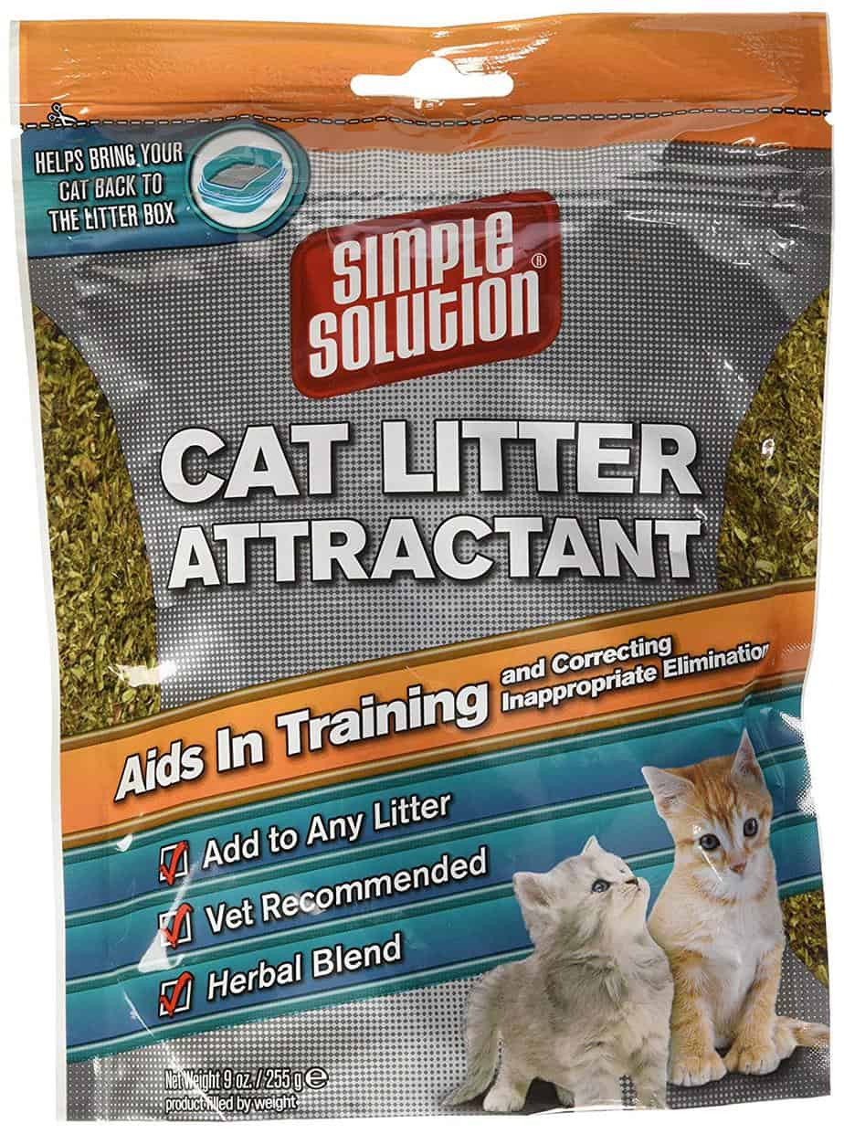 cat litter attractant