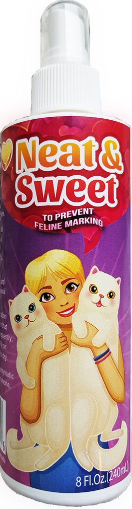 neat & sweet stop cat marking indoor spray