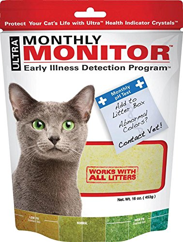 ultra cat health montly monitor