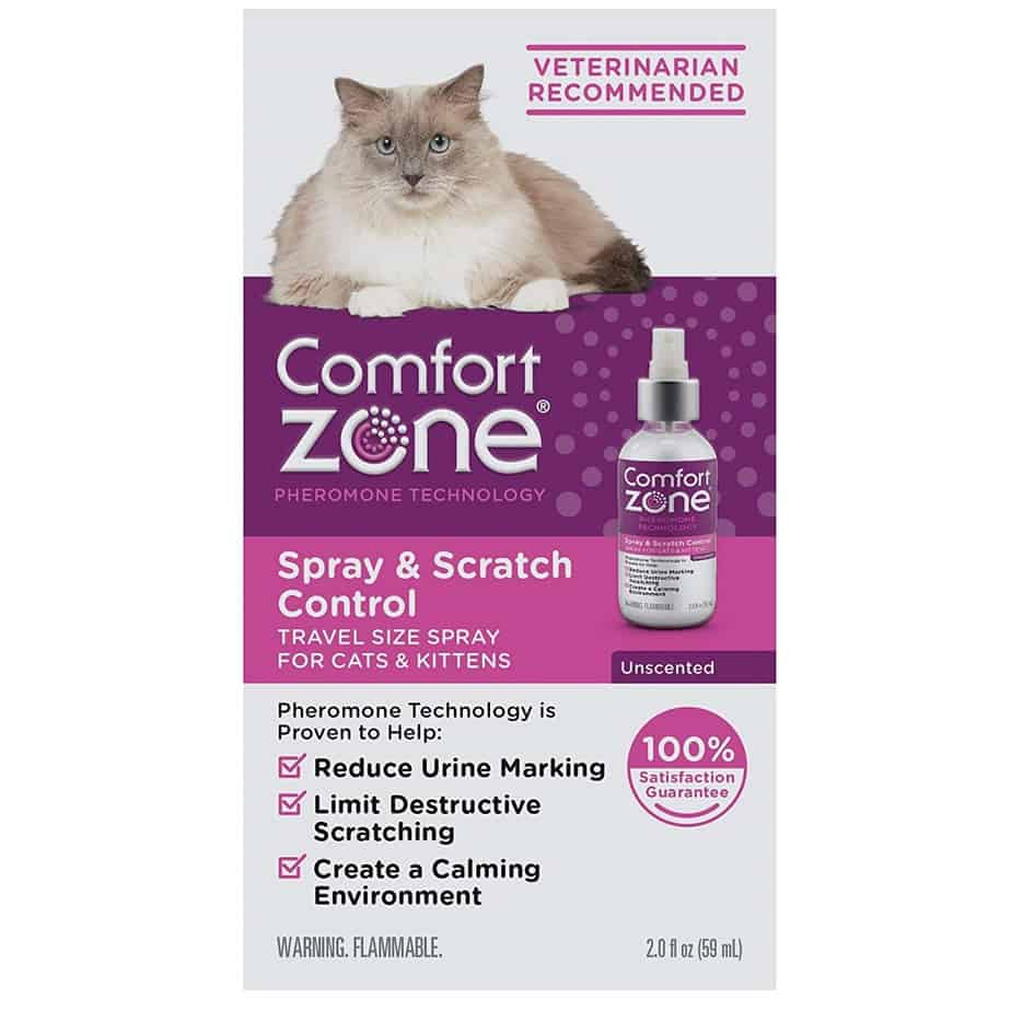 comfort zone cat spray