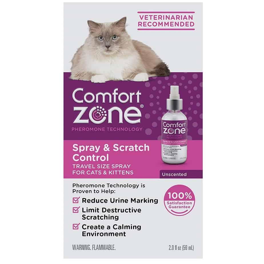 comfort zone cat spray