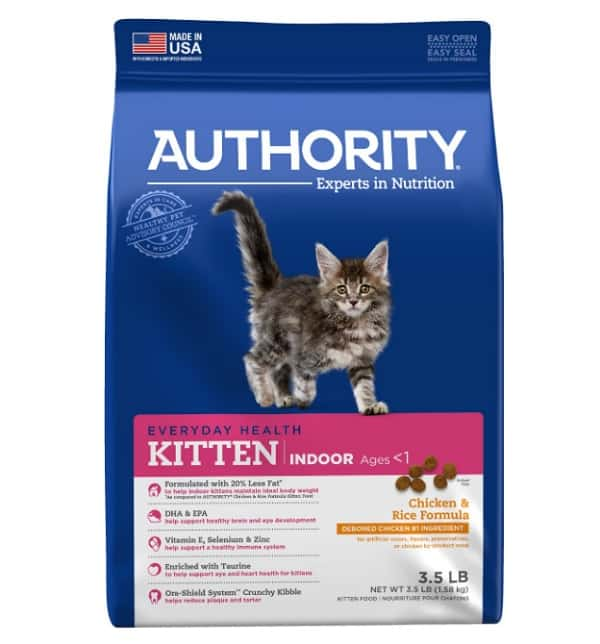 Authority Indoor Chicken Formula Kitten