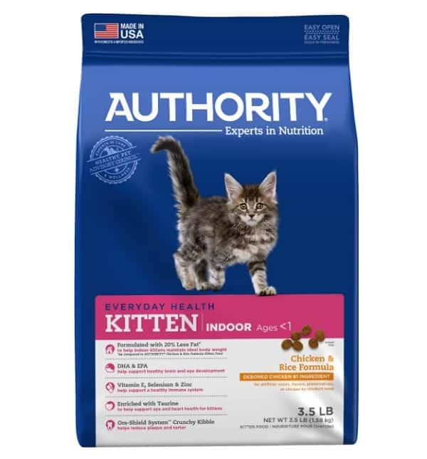Authority Indoor Chicken Formula Kitten