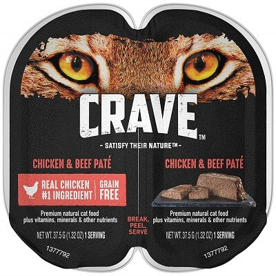 Crave High Protein Wet Cat Food