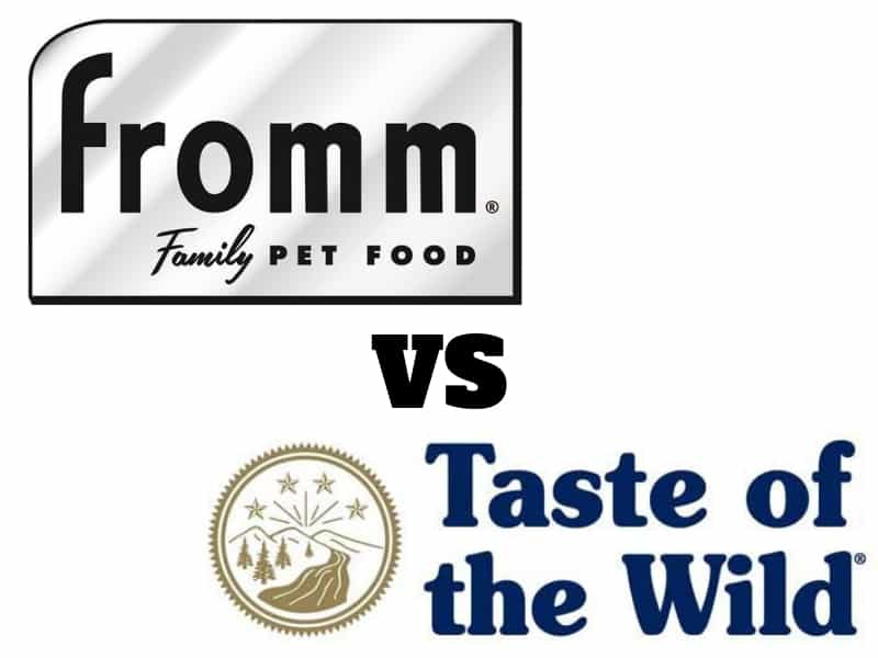 Fromm-vs-Taste-of-the-Wild-Food