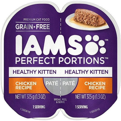 Iams Healthy Kitten Grain-Free Wet Cat Food