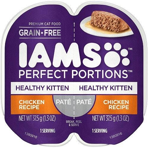 Iams Healthy Kitten Grain-Free Wet Cat Food