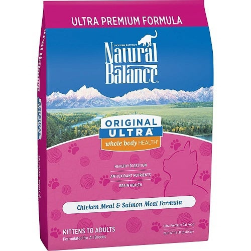 Natural Balance Ultra Whole Body Dry Cat Food