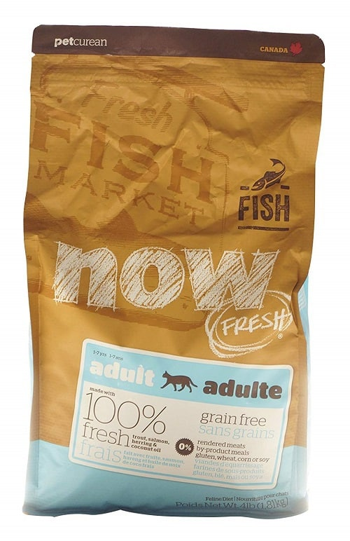 Now Fresh Grain Free Adult Recipe Dry Cat Food