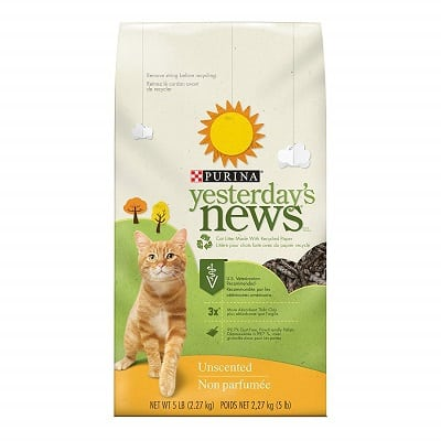 Purina Yesterday's News Unscented Cat Litter