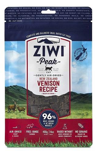 Ziwipeak-air-dried-vension-recipe-cat-food