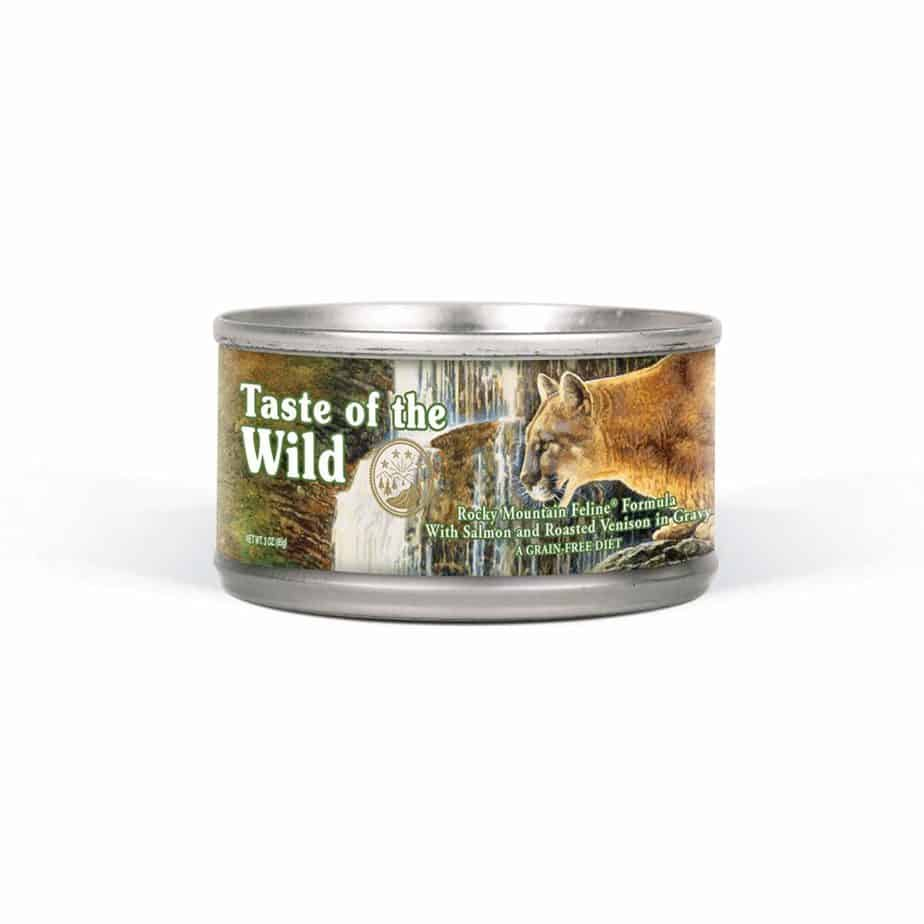 Taste of the Wild Rocky Mountain Feline Canned Recipe