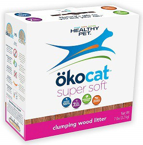 ÖKOCAT-Super-Soft-Natural-Wood-Clumping-Litter