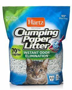 Hartz-Clumping-Paper-Litter