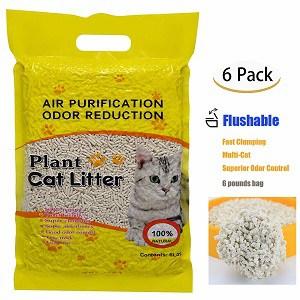 Plant-Cat-Litter
