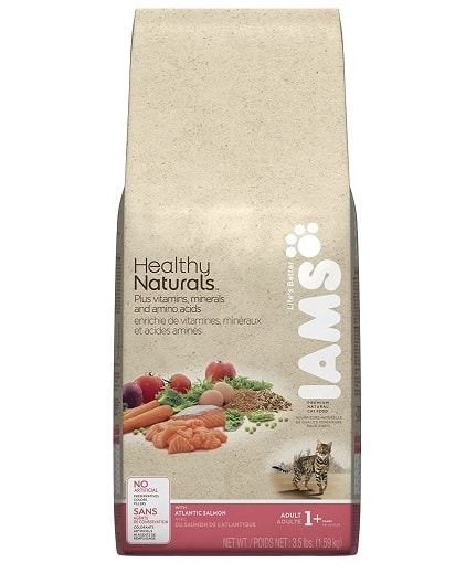 Iams Healthy Naturals Dry Cat Food