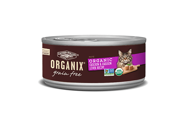 Organic Grain-Free Liver & Chicken Wet Food