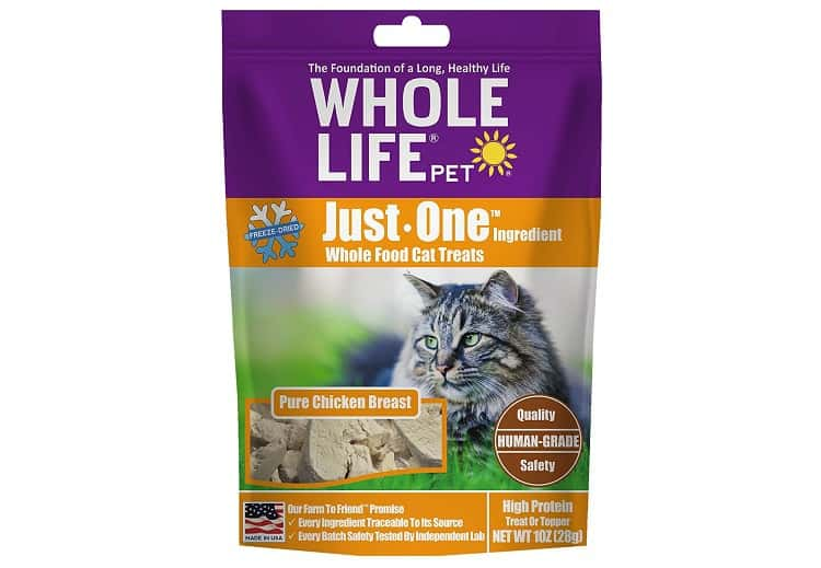 Whole Life One Ingredient Cat Treats