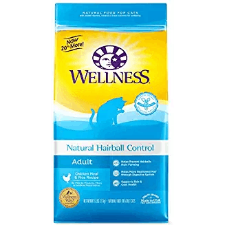 Wellness Natural Ingredient Hairball Control