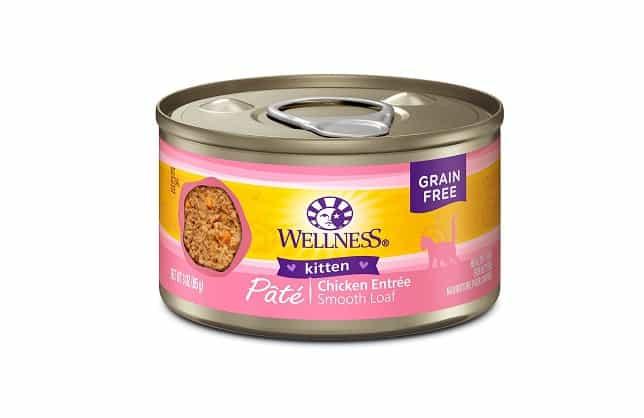 wellness kitten pate