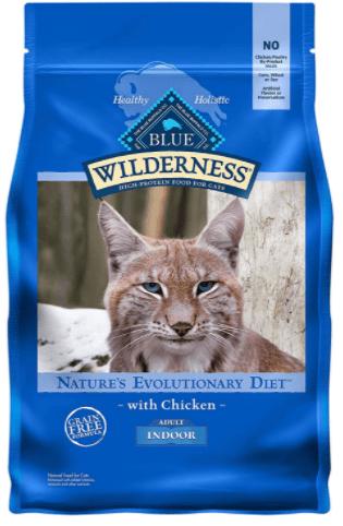 Blue Buffalo Wilderness Indoor Chicken Recipe Dry Cat Food