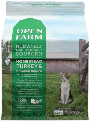 Homestead Turkey & Chicken Dry Cat Food