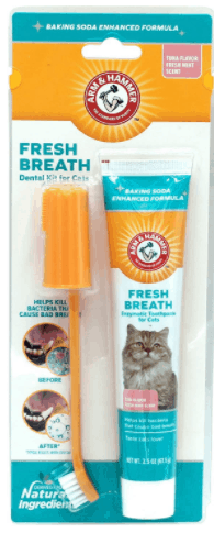 arm & hammer cat dental care kit