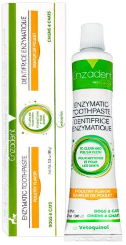 vetiquinol enzadent enzymatic toothpaste