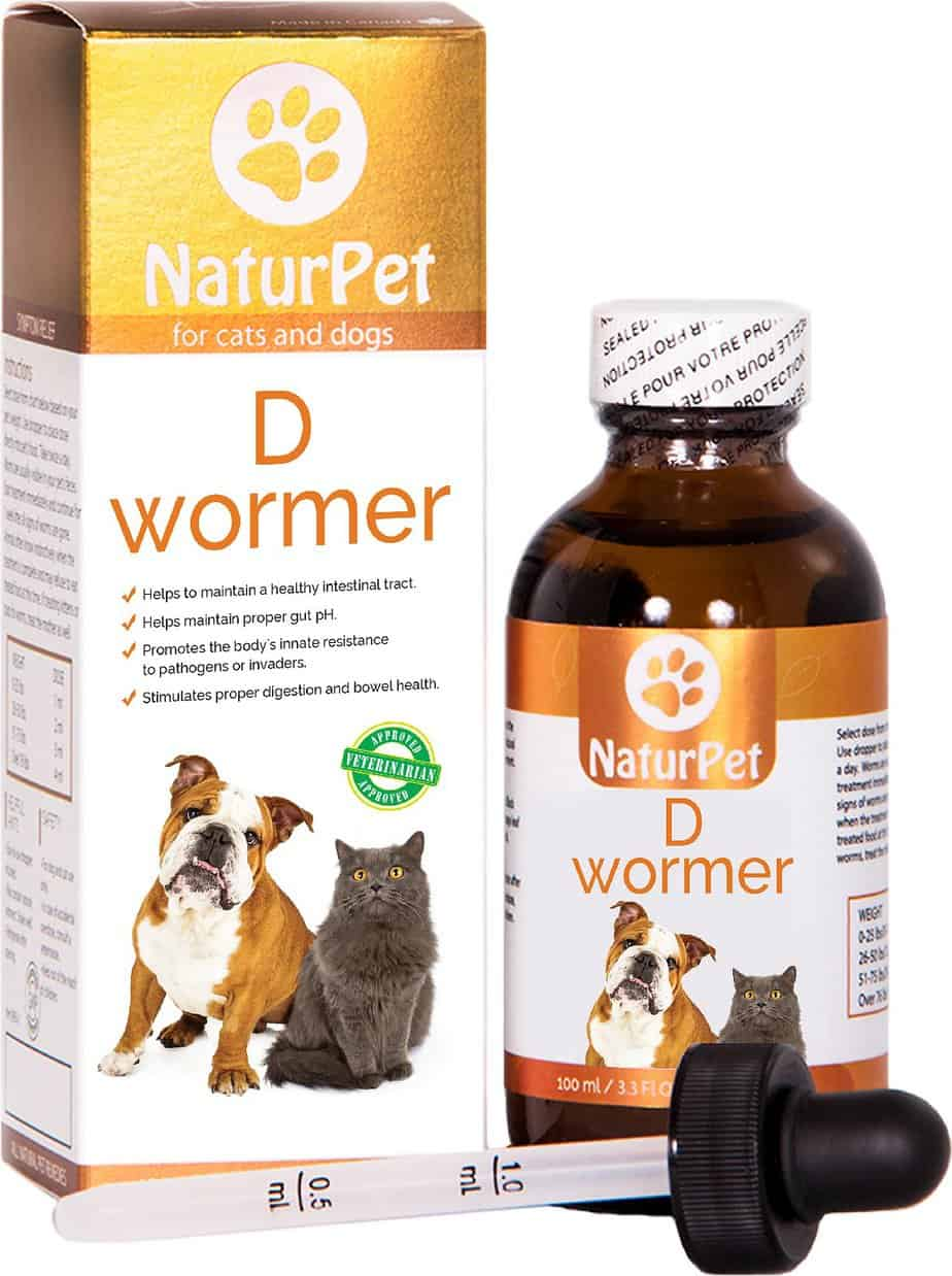 Naturpet D Wormer Homeopathic Medicine for Cats & Dogs | Chewy