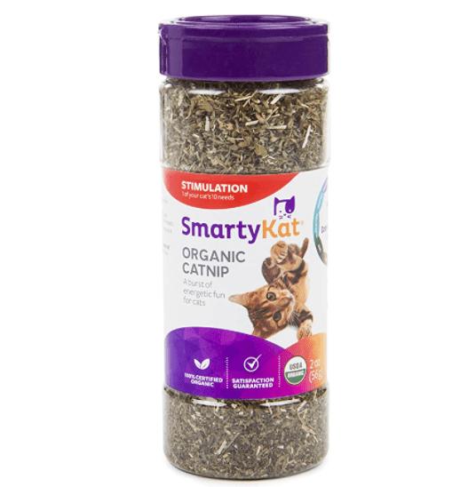 SmartyKat Organic Catnip   Amazon
