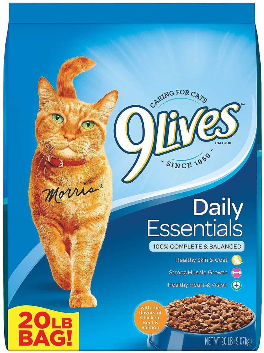 9Lives 20 Lb Daily Essentials Dry Cat Food | Chewy