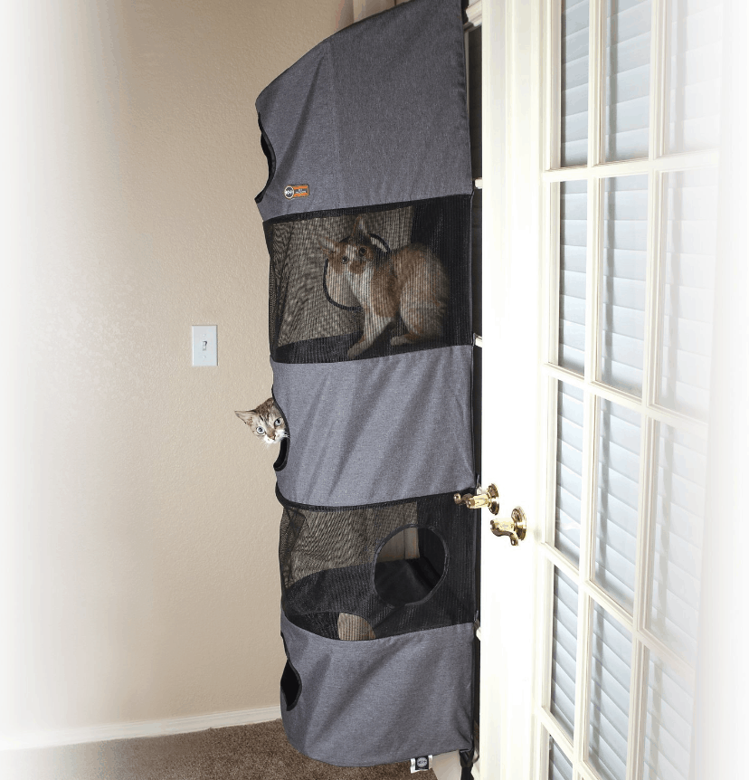 K&H Pet Products Hangin' Multi-Story Cat Condo | Chewy