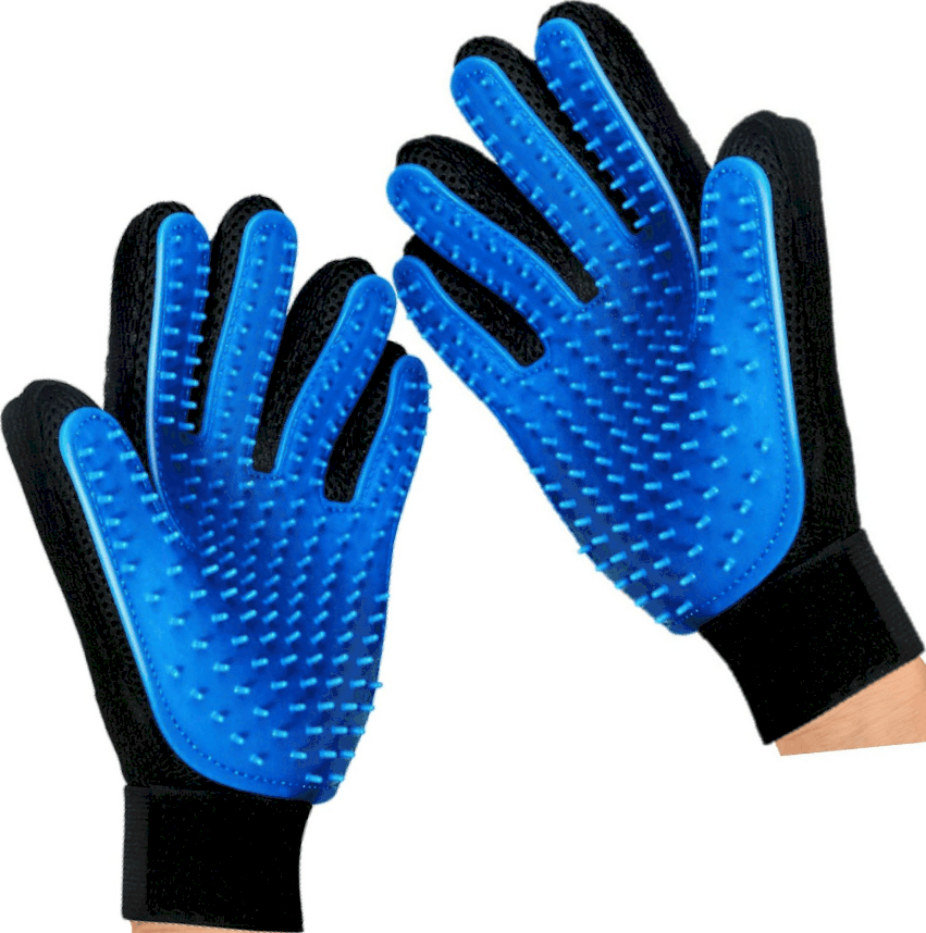 Mr. Peanuts's Hand Gloves Dog & Cat Grooming & Deshedding Aid   Chewy