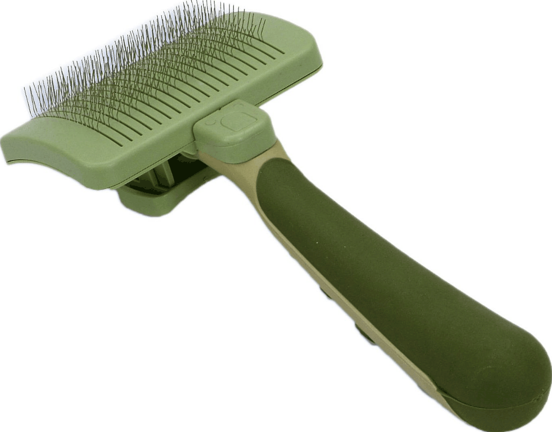 Safari Self-Cleaning Slicker Brush for Cats   Chewy