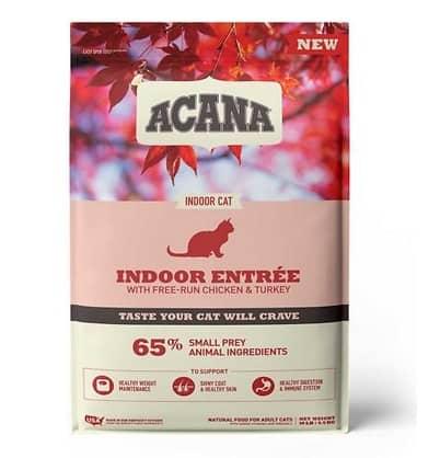 ACANA Indoor Entrée Adult Dry Cat Food   Chewy